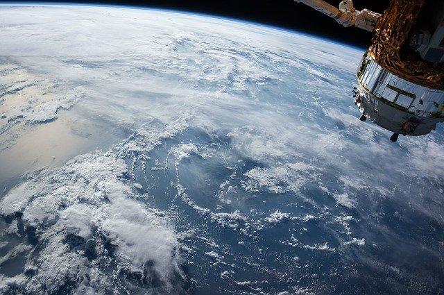 zdjęcie satelitarne z międzynarodowej stacji kosmicznej ISS